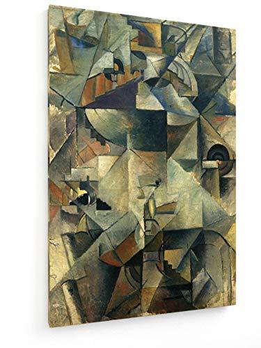 Kasimir Malewitsch - Samowar - 80x120 cm - Leinwandbild auf Keilrahmen - Wand-Bild - Kunst, Gemälde, Foto, Bild auf Leinwand - Alte Meister/Museum -