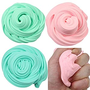 JiaMeng Juguetes de descompresión 2018,Beautiful Color Cloud Slime Squishy Putty Estrés perfumado Kids Clay Toy