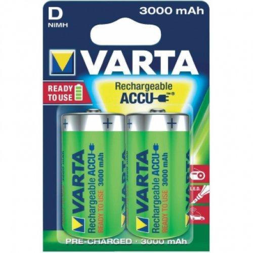 Varta Power Accu d'3000 mAh – batterie/batterie rechargeable (Nickel-Métal-Hydrure (NiMH), bleu, vert, (P)