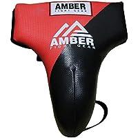 Amber Fight Gear Boxing Abdomen - Coquilla de Artes Marciales, Color, Talla M