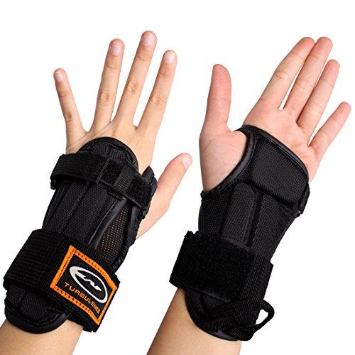 Andux 1 Paar Ski Handgelenk Brace Skate Handgelenkschutz HXHW-02 (S)