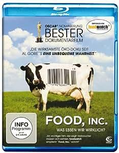 Food, Inc. - Was essen wir wirklich? [Blu-ray]