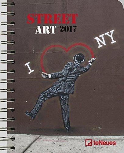 2017 Street Art Diary - teNeues Large Deluxe Diary - Art Diary - 16.5 x 21.6 cm por Ket