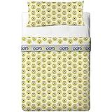 Universal Minions Eye - Juego de sábanas de 3 piezas para cama de 90 cm