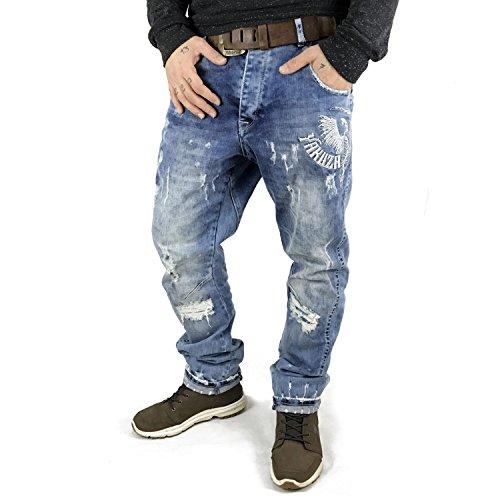 Yakuza Homme Jeans / Antifit Skeleton Anti Fit Medium Vintage