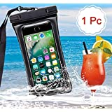 Adoniz Matte Mobile Waterproof Bag/Cover/Pouch with Lanyard for Apple, iPhone, Samsung HTC, Lenova, LG, Micromax, Xiaomi Redmi, Asus, Sony Xperia(Random Colour) (1 No)
