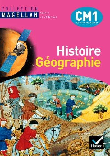 Magellan Histoire-Gographie CM1 d. 2010 - Manuel de l'lve + Atlas by Jacques Bartoli (2010-03-24)