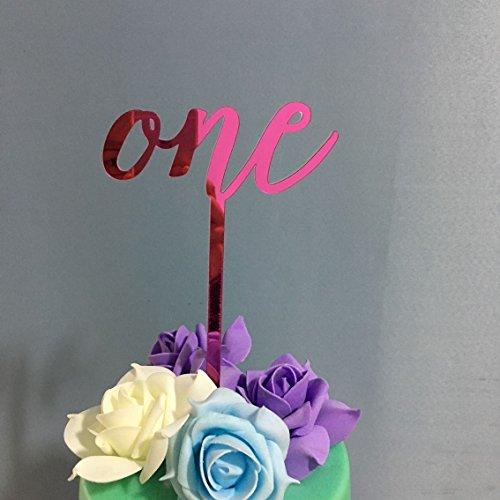 PoshPeanut ein Kuchen Top handgefertigt in den USA 1. Birthday Cake Topper schöne Dekoration in (Disney 50 Top Figuren)