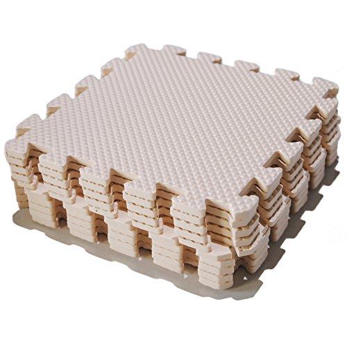 Saint-Acior 10 St. Bodenschutz Puzzlematten Kinder Schaumstoffmatte Spielmatte Puzzle Teppich