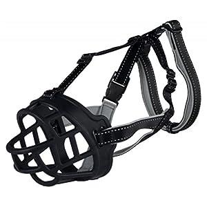 TRIXIE Muselière pour chiens masque de sécurité pour chiens Flex