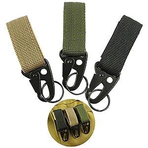 Nylon Tactical Key Haken Military Gurtband Molle Schnalle Außen Hängen Gürtel Karabiner Clip Multifunktions Haken Schnalle