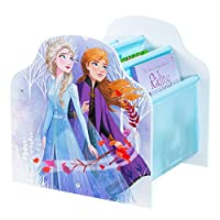 Frozen Disney Kids Sling Bookcase-Bedroom Book Storage by HelloHome, (H) x 39.5cm (W) x 35cm (D)