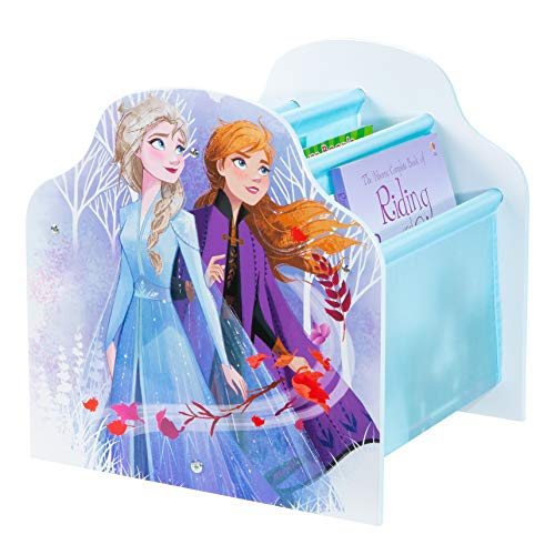 Frozen Disney Kids Sling Bookcase-Bedroom Book Storage by HelloHome, (H) x 39.5cm (W) x 35cm (D) Best Price and Cheapest