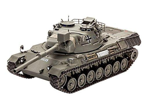 Revell 03240 - modellino da costruire, carro armato da combattimento leopard 1, scala 1:35