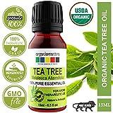 Organix Mantra Tea Tree Essential Oil For Skin, Hair, Face, Acne Care, 15Ml