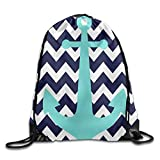 KAKICSA Unisex Gym Bag Fluorescent Blue Jump In Black and White In The Background Drawstring Gym Sack Sport Bag for Men and Women