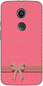 Snoogg Gift Polka Case Cover For Moto X 2Nd Genration/4S
