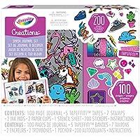 CRAYOLA Creations Set Decora Il Tuo Album, per Colorare e Personalizzare Il Diario Incluso, Colore, 04-0466