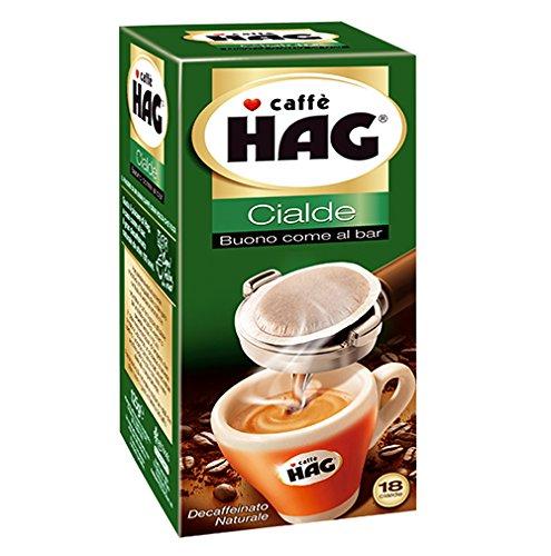 CIALDE CAPSULE CAFFE' HAG DECAFFEINATO MOKONA/TAZZONA (108)