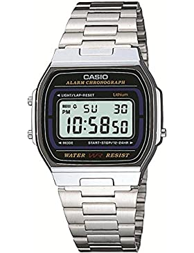 Casio Collection Herren-Armbanduhr Digital Quarz A164WA-1VES