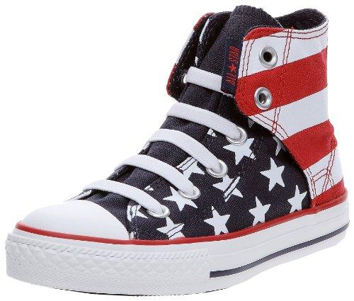 Converse, Sneaker Unisex - bambino, Rosso (Rosso (Rosso)), 27