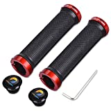 Best Mountain Bike Grips - TOPCABIN® Double Lock on Locking Bicycle Handlebar Grips Review