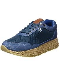 Gioseppo 45346, Zapatillas para Mujer, Azul (Blue), 40 EU