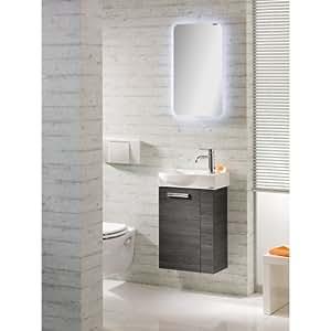 fackelmann g ste wc set como 3tlg pinie anthrazit nachbildung t r linksanschlag. Black Bedroom Furniture Sets. Home Design Ideas