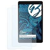 Bruni Schutzfolie kompatibel mit Medion LIFETAB P10505 MD99931 / MD99928 Folie, glasklare Bildschirmschutzfolie (2X)