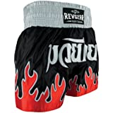 Revgear Deluxe Flames Youth Muay Thai Shorts