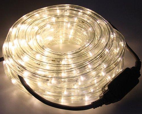 LED Lichtschlauch 12 Meter - LEDs in warmweiß - für Innen und Außen