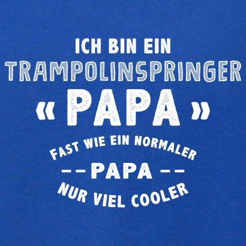 Ich bin ein Trampolinspringer Papa - Herren T-Shirt - 13 Farben Royalblau