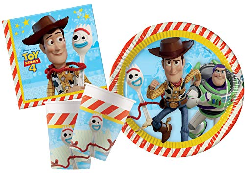 Ciao- Party-Tisch, mehrfarbig, Y5033 (Jessie Toy Story-party)