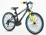 Kinder-Mountainbike, 20 Zoll-Reifen (61cm), mit Shimano 7-Gangschaltung, ab 7 Jahren