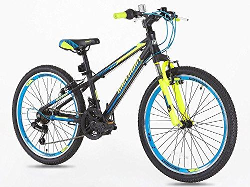 Junior bicicleta de montaña 20pulgadas ruedas Shimano Gear 7de edad de 7años Plus-