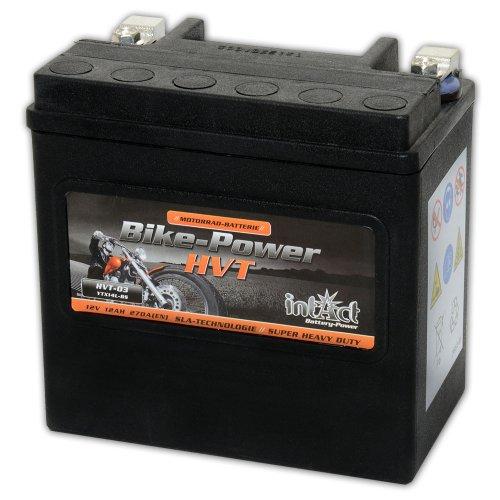 Preisvergleich Produktbild Intakt Bike Power Motorradbatterie HVT 03 SLA 12 V 12 AH 330 A (YTX14L-BS)