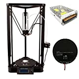 Anycubic Delta Rostock Stampante 3D Kossel Stampa Grande Formato φ230mm*270mm(Versione Plus) immagine