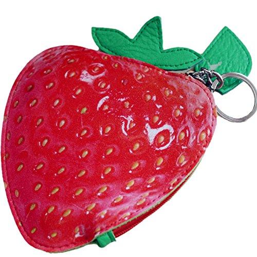 aiklin-damen-schlusseletui-munzborse-kreative-portemonnaie-fruchte-serie-erdbeere
