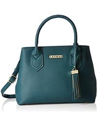 Caprese Brigette Women's Satchel (Emerald)