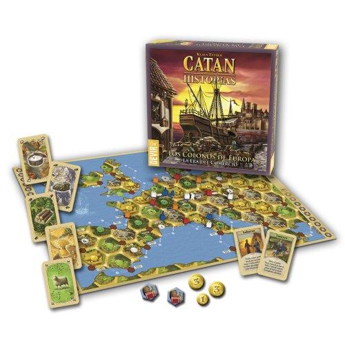 Catan Devir–Die Siedler Europa, Brettspiel (bgcateu)