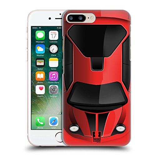Head Case Designs Blau Autos Handy Hülle Serie 2 Ruckseite Hülle für Apple iPhone 5 / 5s / SE Rot