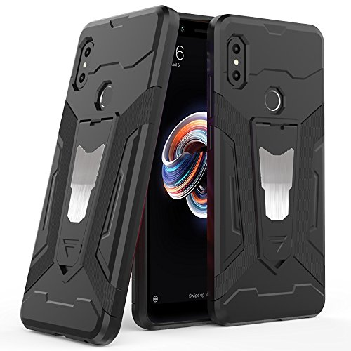 Ferilinso Funda Xiaomi Redmi Note 5,Híbrido Armadura Holster Defender Protección Corporal Completa...