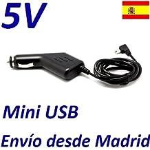 Cargador Mechero Coche 5V Mini USB TOMTOM GO LIVE VIA ONE Recambio Replacement