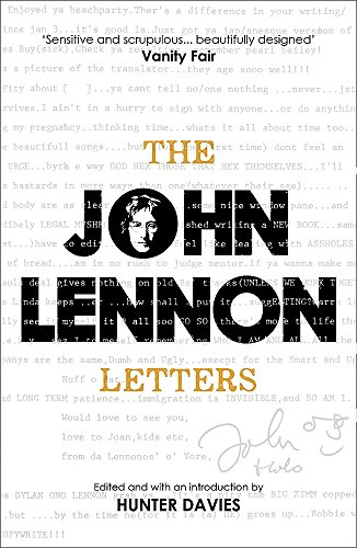 The John Lennon Letters: Edited and with an Introduction by Hunter Davies por John Lennon