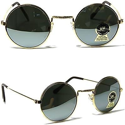 Hippie espejados gafas de sol JOHN LENNON-redondo de estilo vintage UNISEX de TEASHADES hombre mujer