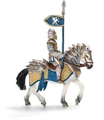 Schleich Griffin Knight on Horse With Lance
