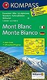 Carta escursionistica n. 85. Monte Bianco-Mont Blanc