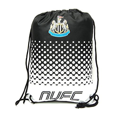 Beutel, Tasche, Turnbeutel mit Kordelzug, Fußball Team, schwimmen (verschiedene Vereine zur Auswahl), Newcastle United FC, 45 x 34cm -
