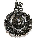 Issue Royal Marines Bronzed Cap / Beret Badge