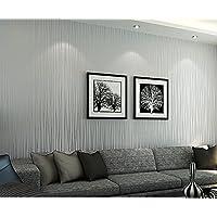 Papel pintado para paredes imitaci n for Papel pintado salon marron